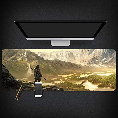 IGIRC Mauspad Far Cry 900X400mm Mauspad, Speed   Gaming Mousepad, Erweitertes XXL großes Mousemat mit 3mm starker Basis, für Notebooks, PC, D (Far Cry Notebook)