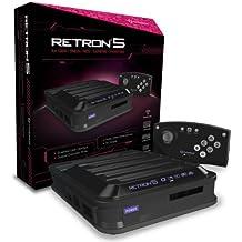 RetroN 5 - Consola, Color Negro + Mando Bluetooth