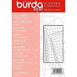 Burda Style Nähzubehör: Vliesstoff mit cm-Raster, [Art.Nr.: 1025]