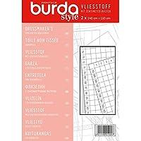 Burda Style Vliesstoff mit cm-Raster
