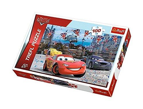 Puzzle Auta 2 Wyscig w Londynie 100
