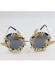 pengweiPliage lunettes de soleil papillon Lunettes de soleil mod¨¨les f¨¦minins exag¨¦r¨¦e des lunettes de personnalit¨¦