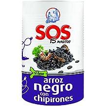 SOS Arroz Negro con Chipiron - 955 gr - [Pack de 6]