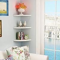 decorazioni camera da letto - Mensole da angolo ... - Amazon.it