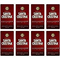 Café Molido Descafeinado Santa Cristina 8x250g