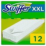 Swiffer - Recharges Lingettes Sèches pour Balai Attrape-Poussière Taille XXL - 3x12 (36 lingettes)