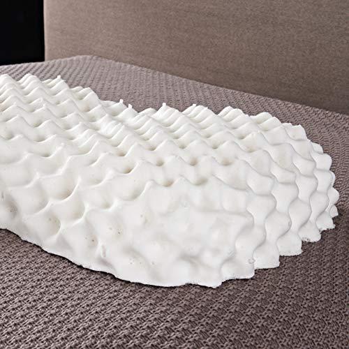 Natürliche Granulat (SMQ Latex Kissen Hohe Qualität Hohe Elastizität Granulat Natürliche Gesundheit Gebärmutterhalskrebs Latex Kissen)