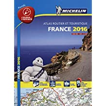 Atlas France 2016 Plastifié Michelin
