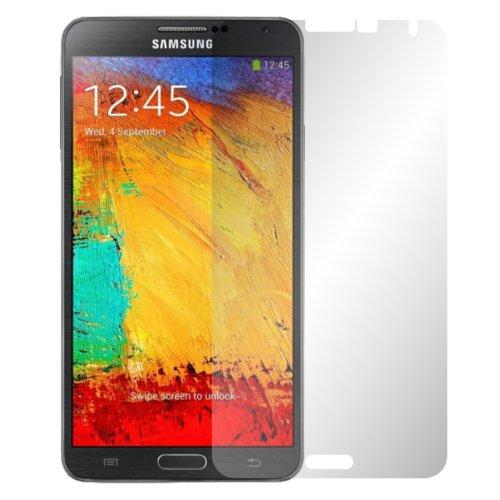 Slabo 4 x Bildschirmschutzfolie für Samsung Galaxy Note 3 Bildschirmfolie Schutzfolie Folie Zubehör Crystal Clear KLAR - unsichtbar MADE IN GERMANY