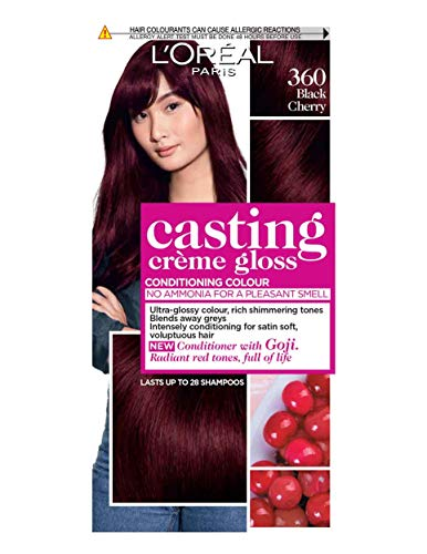 L'Oreal Paris Casting Creme Gloss Hair Colourant 360 Black Cherry