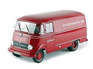 Norev-183416-Mercedes-Benz L319Porsche-1960-Rojo-Escala-1/18