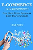 E-COMMERCE FOR BEGINNERS - 2016 (2 in 1 Bundle): ONE HOUR ECOM SYSTEM & EBAY STARTERS GUIDE