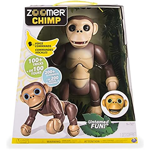 Spin Master Spielzeug Roboter Zoomer Chimp - Go Go Animali Set