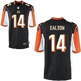 14 Dalton Andy Trikot Cincinnati Bengals Jersey American Football Shirt Youth Black Size XL