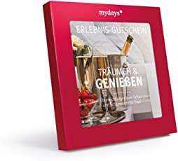 mydays Hotel-Gutschein TRÄUMEN & GENIEßEN   2 Übernachtungen für 2 Personen   über 55 Hotels   Geschenk für Frauen und Männer   Inklusive Geschenkbox