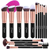 BESTOPE Make up Pinsel Set 16 Stück Premium Kosmetik mit Synthetisches Haar Pinselset kosmetik Kabuki Foundation Blush Eyeshadow Eyeliner Schminkpinsel