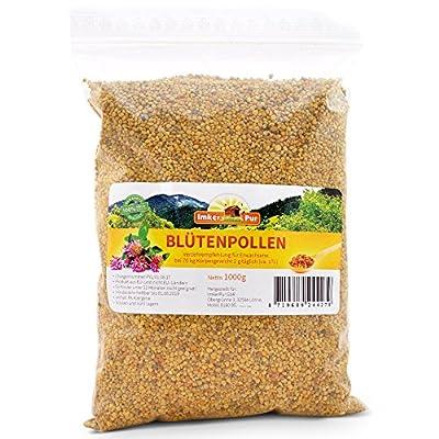 ImkerPur® Organic Bee Pollen, 500g, completely residue-free, sweetish mild, harvest 2017 from ImkerPur