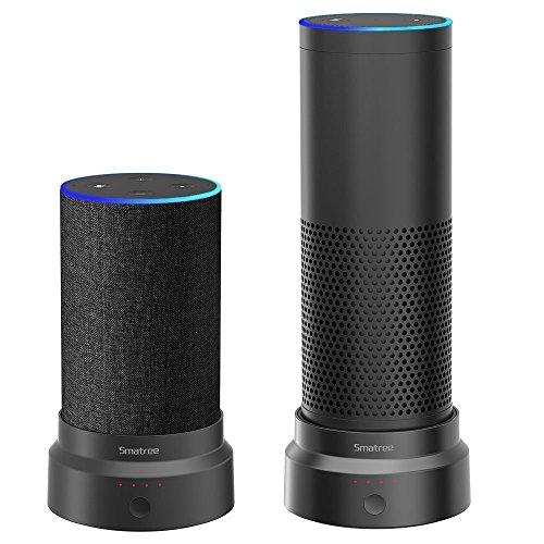 Smatree Batteriebasis für Amazon Echo (2.nd Generation) und Echo Plus(Neues Version)