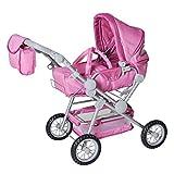 KNORRTOYS.COM 10405 Twingo S Diamond - Cochecito de muñecas en color rosa
