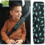1 x dziecięcy dinozaur dla chłopców dinozaur ochrona pasa bezpieczeństwa poduszka na ramię poduszka na siedzenie samochodowe