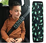 Aodoor Guaine per cintura di sicurezza Imbottiture Cintura,Protezioni Comfort per Cintura di Sicurezza Auto Per bambini e adulti 2 pezzi
