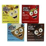 Cafféluxe Pod Star Milchshakes 4 verschiedene Sorten, für Kinder, Dolce Gusto Kompatibel, 40 Kapseln