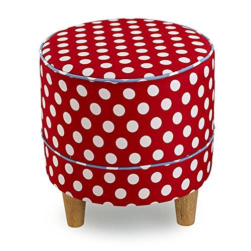 Schuhe Stuhl / Stoff Sofa Hocker / Change Schuhe Hocker / Massivholz Füße Niedriger Hocker / Sitzplatz Pier / Einfache moderne Hocker (5 Farben optional) (38 * 40cm) ( farbe : B )