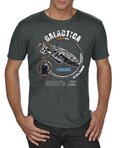 TLM Galactica T-Shirt Herren M Darkgrey ()