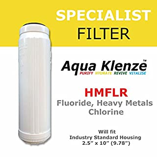 Fluoride, Heavy Metal & Chlorine Filter Cartridge (Multi-use)