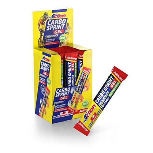 Carbo Sprint Gel (agrumi) - confezione da 25 stick da 25 ml