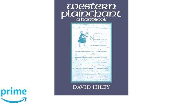 A Handbook Western Plainchant