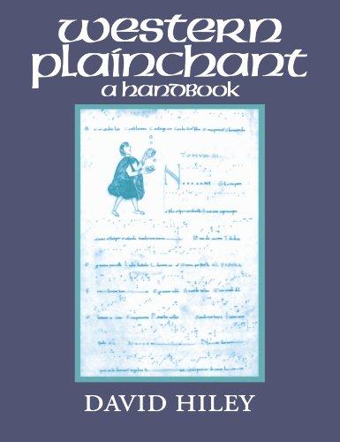 Western Plainchant: A Handbook (Clarendon Paperbacks)