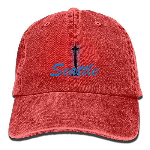 VTXINS City Seattle Denim Hat Adjustable Women's Stretch Baseball Hats