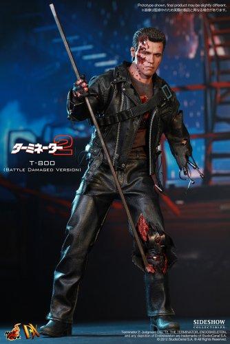 "[Movie Masterpiece DX] ""Terminator 2"" 1/6 scale figure T-800 (Battle Damage version) (second shipment) (japan import) 2"