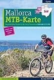 Mountainbikekarte Mallorca (Kartenset mit Nord + Süd-Blatt): Mountainbike-Routen in der Serra Tramuntana -