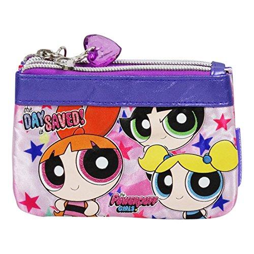 Powerpuff Girls Damen Geldtasche Geldbörsen Geldbeutel Cluth Pochette D (Girl Grumpy)