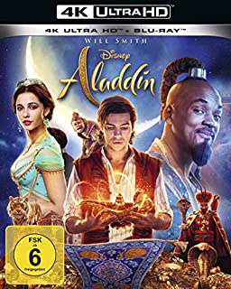 Aladdin (Live-Action) [4K Ultra HD] [Blu-ray]
