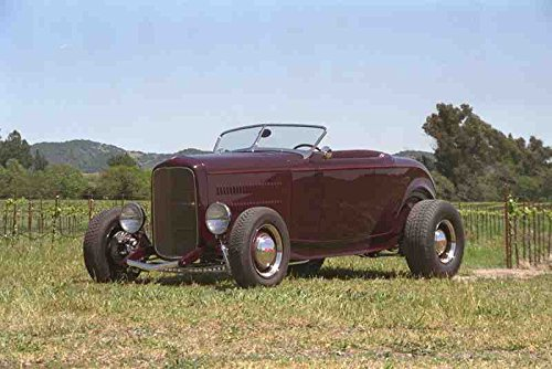Metal Sign 521030 1932 Ford Roadster A4 12X8 Aluminium