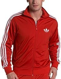 Adidas firebird jacke herren schwarz rot