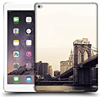Ufficiale Haroulita Brooklyn Bridge 2 Luoghi 2 Cover Retro Rigida per Apple iPad Air 2