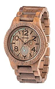 Orologio in legno wewood kardo nut orologi for Orologio legno amazon