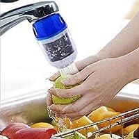 2015New Aktivkohle Leitungswasser Wasserfilter für Küche Wasserhahn Wasserhahn Wasserfilter Luftreiniger ^
