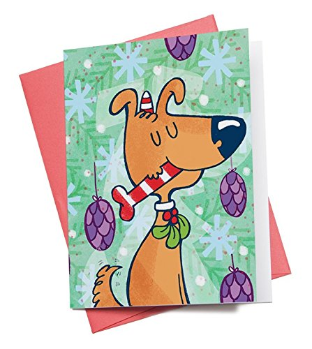 Alicia Souza Ag17 Christmas Dog Greeting Card Price In India