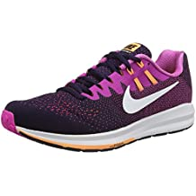 Nike Air Zoom Structure 20, Chaussures de Running Entrainement femme, Violet (Purple Dynasty/Fire Pink/Peach Cream/White), 40.5 EU