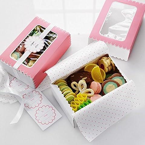 rosa Geschenkboxen