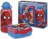 Spiderman–Set Trinkflasche und Sandwichmaker (Kids Euroswan mv15199)