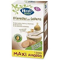 Hero Babynatur - Cereales Con Galleta Maria 1200 g