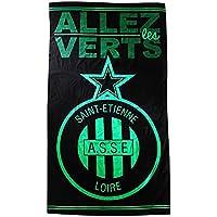Drap de sport / serviette de plage ASSE - Collection officielle AS SAINT ETIENNE - Taille 100 x 180cm - Football Ligue 1