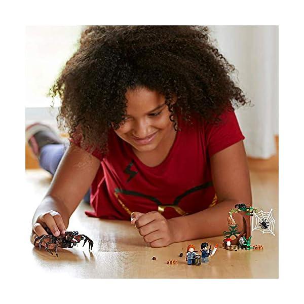 LEGO Harry Potter - Guarida de Aragog, Juguete de Construcción de Aventuras Basado en la Película (75950) 6