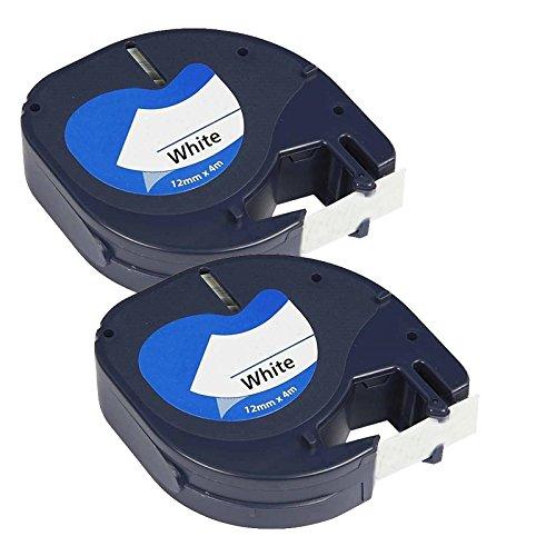 2-x-compatible-plastico-cintas-dymo-letratag-91201-negro-sobre-blanco-12mm-x-4m-para-letratag-lt110t